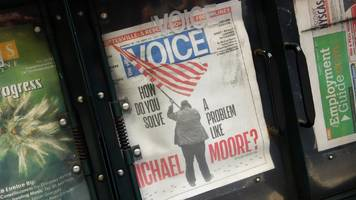 Vale the Village Voice: New York bible axes print edition