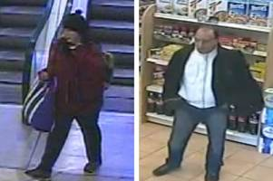 cops launch search for man pictured shopping with missing edinburgh woman