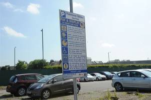 driver refusing to pay £100 parking fine as meters at stirling car park were 'out of order'