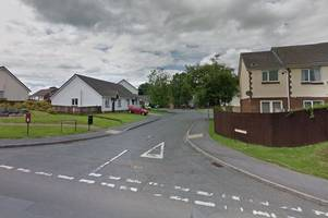 emergency crews tackle late-night carmarthen house fire
