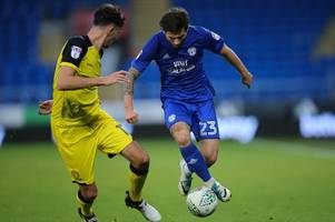 cardiff city ratings from burton albion carabao cup loss: matty kennedy and brian murphy impress but others are flat