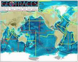 129i waste used to track ocean currents for 15,000 km after discharge from nuclear plants