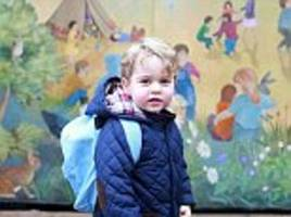 prince george's £20,000-a-year prep gets rave reviews