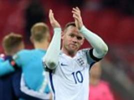 Wayne Rooney: 10 good, bad and ugly moments for England