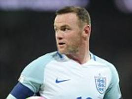 Wayne Rooney announces retirement from England duty