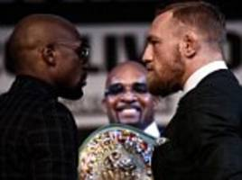 Conor McGregor is 'a hell of a fighter' - Floyd Mayweather