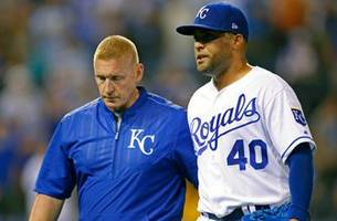 Royals prepare for Rockies with Herrera's availability uncertain