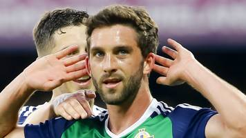 will grigg: wigan striker remains out of ni squad as shay mccartan is retained