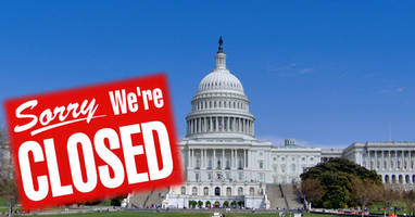compass point: odds of a government shutdown are now dramatically higher