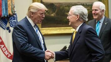 mcconnell doubts trump can save presidency as relationship disintegrates