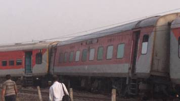 Kaifiyat Express Derailment: Search, rescue and relief operation over;  74 passengers injured
