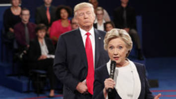 'Back up you creep': Hillary Clinton recounts skin crawling Trump debate in new book 'What Happened'