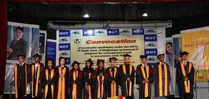 department of information technology, government of meghalaya and niit host convocation ceremony for students under 'sponsored it program' project