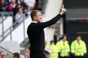 how derby county boss gary rowett reacted when asked about 'targets' sam gallagher and jon toral