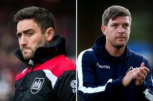 the details on the referees for bristol city and bristol rovers next match