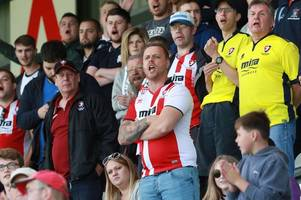 from new zealand to hollywood: where cheltenham town fans will be watching the big game against west ham from around the globe