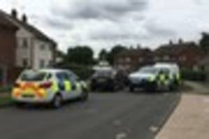 live updates as essex police cordon off road in ongar after...