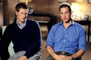 prince william and harry open up about devastating moment dad broke news of mum diana's death