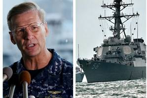 us fleet commander sacked after four warships crash at sea over past year