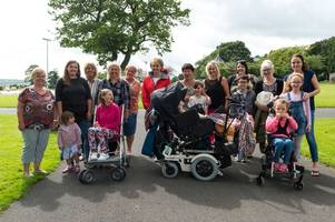 parks in carmarthenshire need more disabled-friendly play areas say parents