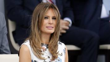 Melania Trump thanks Chelsea Clinton for defending son Barron
