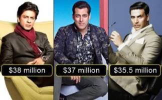 srk, salman and akshay enter the top 10 highest paid actors of the world list