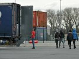 border police stopped more than 150 daily attempts