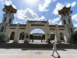 china removes loudspeakers from hundreds of mosques