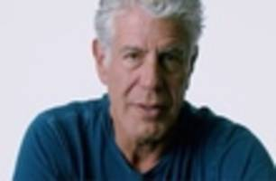 anthony bourdain would like to talk to you about food waste
