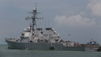 us navy confirms one of the missing uss john s. mccain sailors died