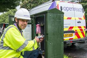 devon villages in the internet fast lane after agreeing high speed broadband partnership with openreach