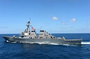 us navy identifies one dead, nine missing sailors after uss mccain collision