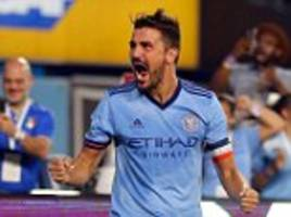 david villa called up to spain's squad