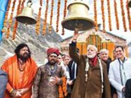 modi to start 2019 re-election bid with blessings
