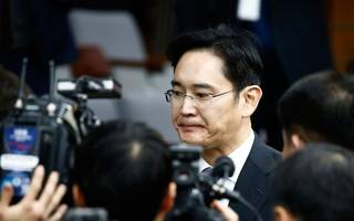samsung scion guilty of $5m bribery and jailed for five years