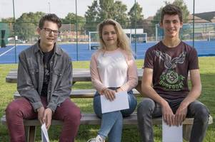 gcse results on 'a different level' at hill house school
