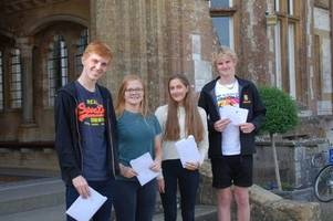 a great set of gcse results at clayesmore