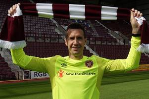 hearts sign goalkeeper jon mclaughlin on one-year deal as shotstopper targets trophies at tynecastle