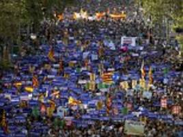 thousands unite on barcelona streets for anti-terror march