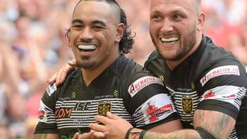 fonua double helps hull retain challenge cup