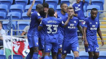 cardiff beat qpr to maintain 100% start