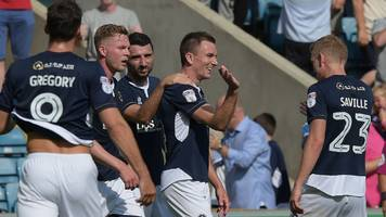 millwall hammer norwich to claim first league win