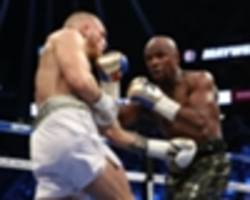'a disgrace to sports' - football reacts as floyd mayweather beats conor mcgregor