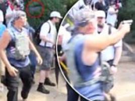 white nationalist fired gun at charlottesville protesters