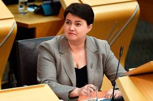 ruth davidson backing bigots among tory ranks is a sure sign of weakness