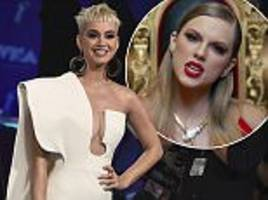 vmas 2017: katy perry not onstage for taylor swift video