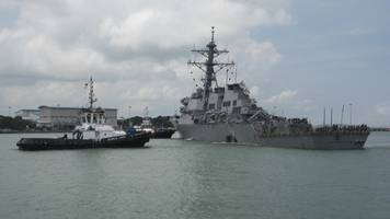 navy recovers remains of all 10 missing sailors after mccain collision