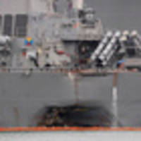 bodies of all 10 sailors missing on warship have been recovered