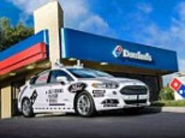 ford and domino's announce self-driving delivery tests