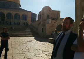 mk glick enters temple mount for the first time in two years